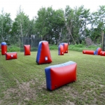 Outdoor Air Inflated Mazes in Cumbria 9