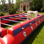 School Sports Inflatable Track in Acton Scott 7