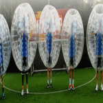 Inflatable Penalty Shootout Goals in Highland 5