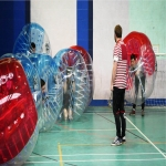 School Sports Inflatable Track in Northamptonshire 2