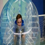 Inflatable Penalty Shootout Goals in Highland 2