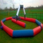 School Sports Inflatable Track in Acton Scott 5
