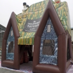 Outdoor Air Inflated Mazes in Cumbria 10