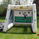 Inflatable Penalty Shootout Goals in Highland 6