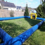 School Sports Inflatable Track in Acton Scott 2
