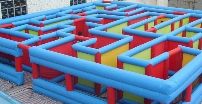 Air Filled Mazes