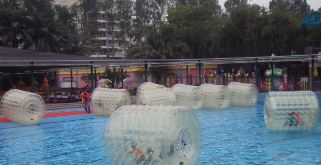Inflatable Water Roller in Abshot