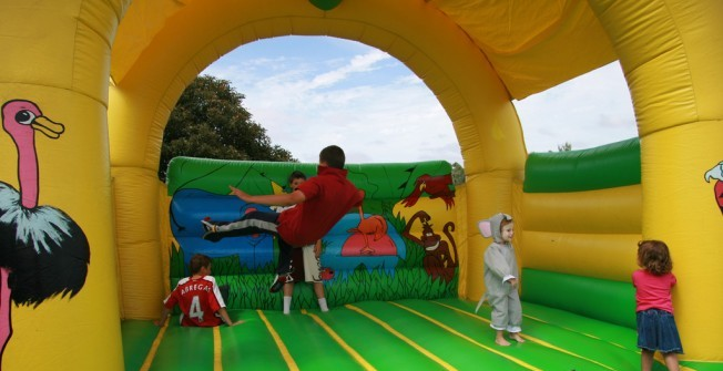 Bouncy Castles Specialists in Aberdulais
