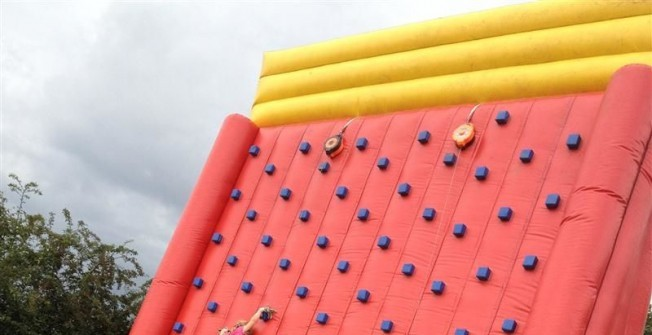 Inflatable Climbing Wall for Sale in Aldbrough