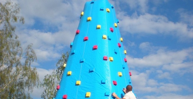 Blow Up Rock Climbing in Aldermaston