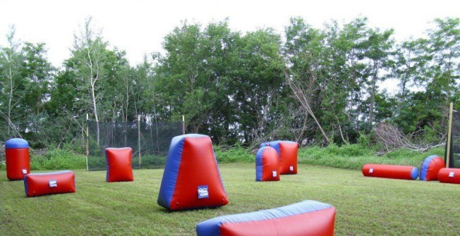 Blow Up Paintballing Arena in Abbess End