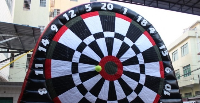 Giant Football Darts Boards in Abthorpe