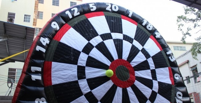 Football Darts Inflatables in Abthorpe