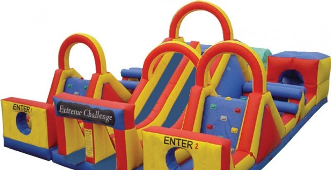 Inflatable Obstacles for Sale in West Yorkshire