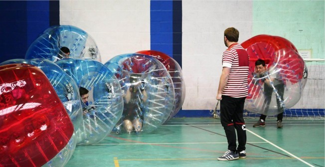 Bubble Footy Equipment in St Helens