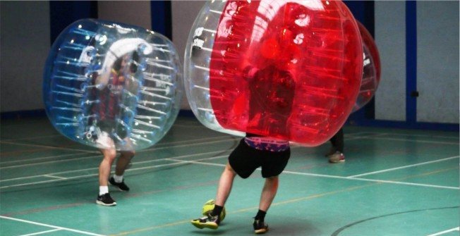 Bumper Ball Suits in Pembrokeshire