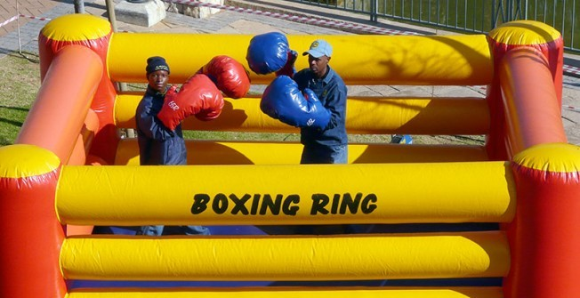 Inflatable Boxing Ring in Inverclyde