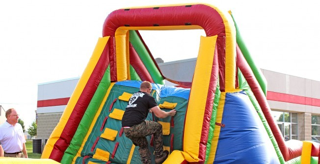 Inflatable Obstacle Run For Hire in West Yorkshire