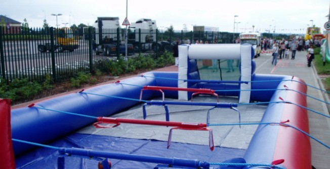 Inflatable Soccer Table in County Durham