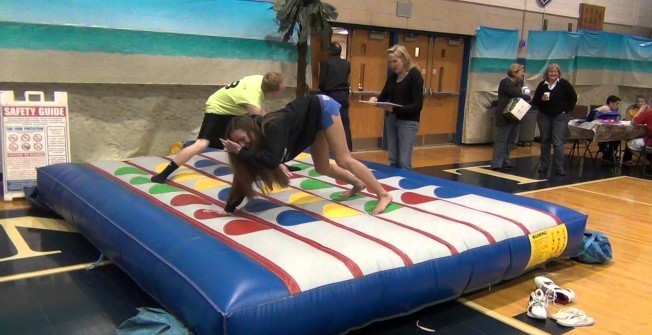 Indoor Blow Up Twister Mat  in West Yorkshire