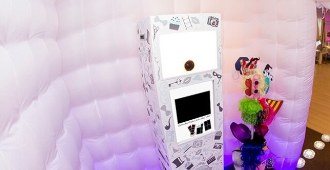 Portable LED Photobooth in Abbess End