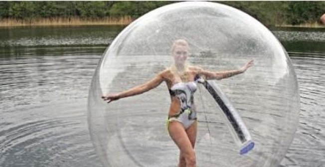 Air Filled Human Pool Zorbs  in Abergwili